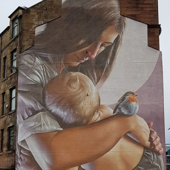 St Enoch and Child