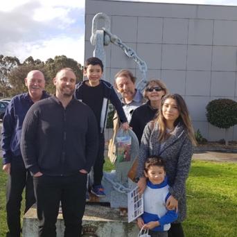 With Sean, Moni, Jensen & Ollie
