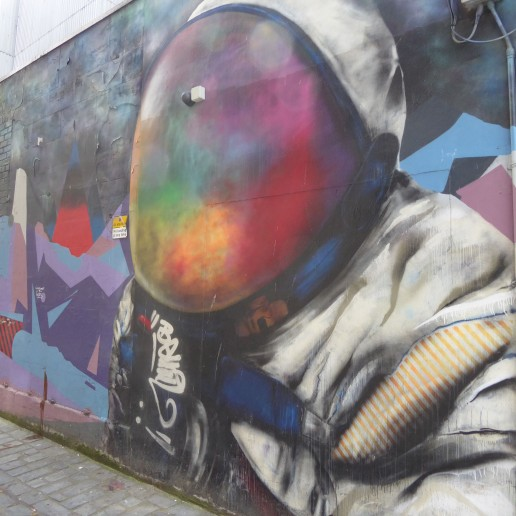 Spaceman by Recoat and Ali Wylie