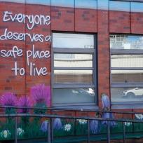 Simon Community, Ballater Street, Glasgow.