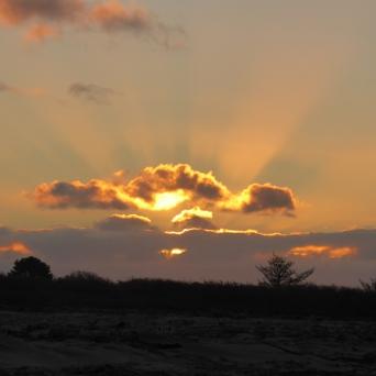 Sunset at Carters Beach