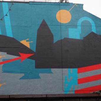 Rural Mural, London Road