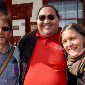 Jim & Camille in Rotorua