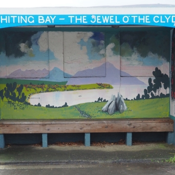 Shelter painted by David Aitchison