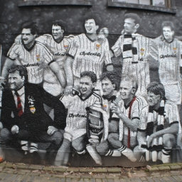 The Cup Winning St Mirren team of 1987 by Mark Worst