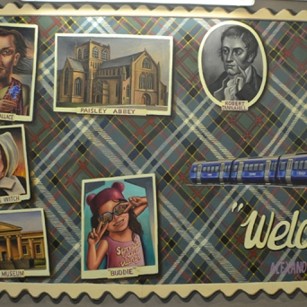 'Welcome to Paisley by Caroline Gormley and Sandy Guy