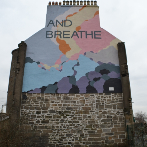 'And Breathe' by Paisley artist Duncan Wilson