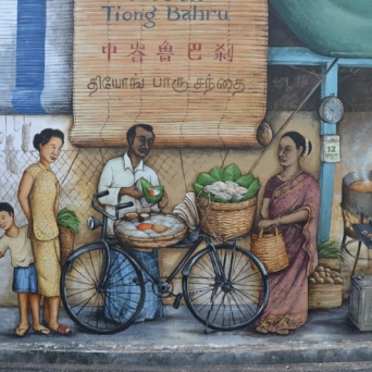 Pasar and the Fortune Teller at Tiong Bahru