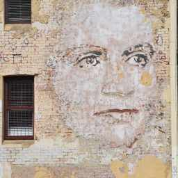 Dame Dorothy Tangney by Vhils