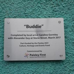 The Buddie by Caroline Gormley and Sandy Guy