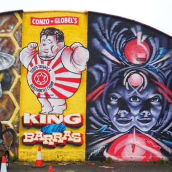 Right hand Image, at the Barras