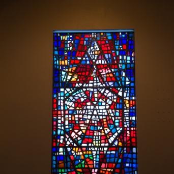 Church at Skálholt window