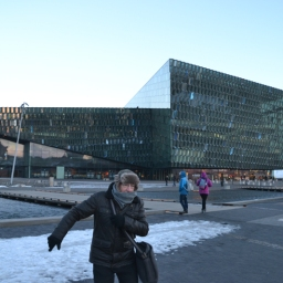 Harpa, concert hall and conference centre