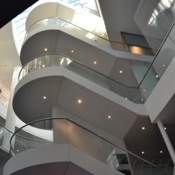 Perlan staircase