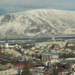 View from Perlan