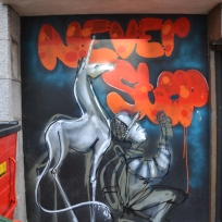 Never Stop by herakut and alteregoabdn #2