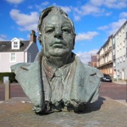 John Logie Baird, a son of the town 14mm f3.5