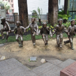 San Francisco Puddle Jumpers by Glenna Goodacre