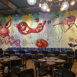 Mural by Kenny Scharf