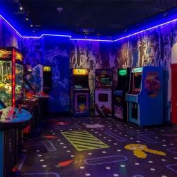 The arcade at Greene St. Kitchen