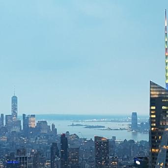 Twilight over New York