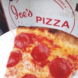 New York Food Tour Joe's Pizza