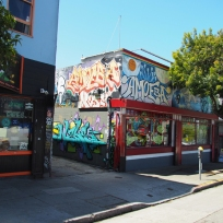 San Francisco Street Art Haight Ashbury