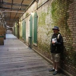 Alcatraz Island typical prisoner