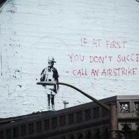 Banksy at Columbus Avenue