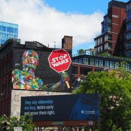 """""""Stop Wars"""" – Christopher St, Manhattan"""