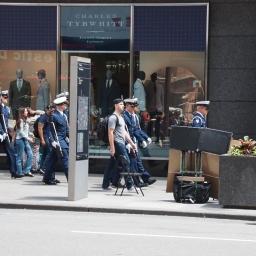 New York Marines on Parade