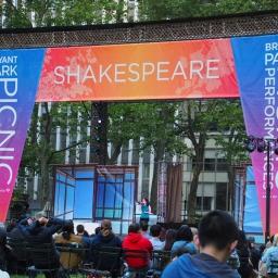 New York Shakespeare in Bryant Park