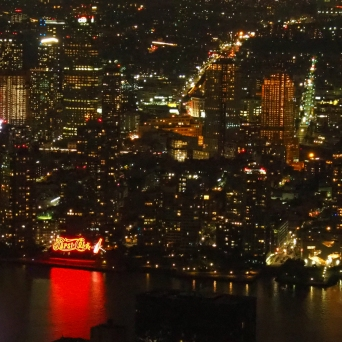 New York from the Empire State Building
