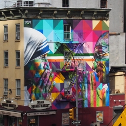 """""""Mother Teresa"""" – W 18th Street and 10th Avenue,"""