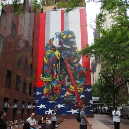 """9/11 firefighter"" – 780 3rd Avenue & 49th Street"
