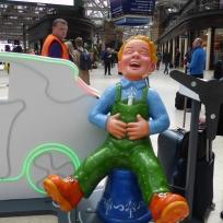 Yer Green Laddie by 24 design Ltd in Central Station