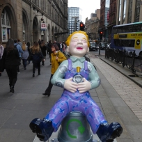 Bring Back Your Empties Wullie by Michelle Q Cranwell on Hope Street