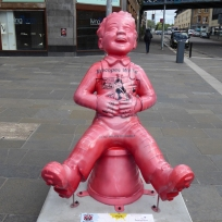 Whoopie Wullie by Conzo Throb at Glasgow Cross