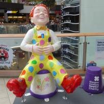 Celebration Wullie by Dawn Brooks in St Enoch Centre