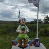 Oor Green Laddie by Jenny Leonard at Whitelee Wind Farm