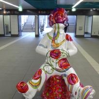 Charles Rennie by Sue Guthrie in St Enoch Subway Station
