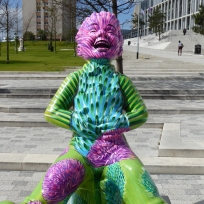 Oor Thistle by Tanya Mahon at City of Glasgow College