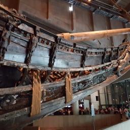 Vasa's bow section