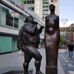 Stockholm Street Sculpture