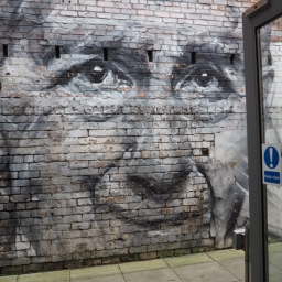 Guido Van Helten,he Out of the Blue Drill Hall