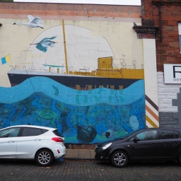 The Leith Aquatic mural by the Blameless collective