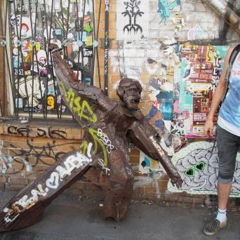 Street sculpture by TEJN