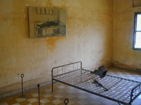 A torture bed