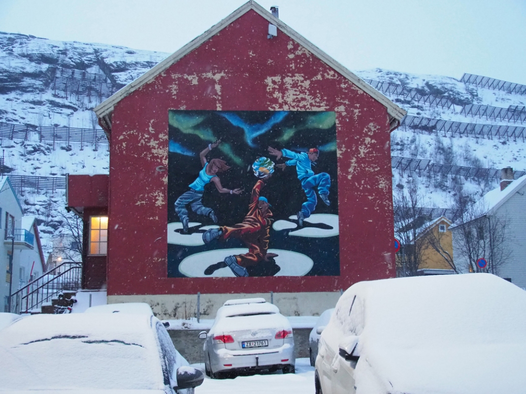 Rustam QBic in Hammerfest