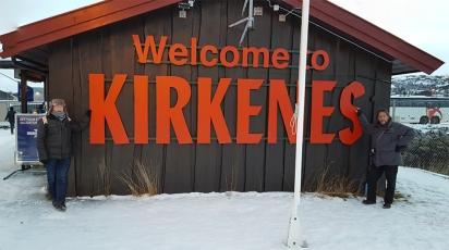 Jim & jim in Kirkenes
